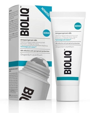BIOLIQ DERMO Antyperspirant roll-on 48h 50 ml