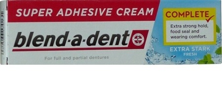 BLEND-A-DENT EXTRA MOCNY KLEJ DO PROTEZ FRESH ORYG