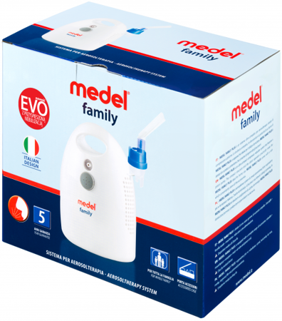 INHALATOR MEDEL FAMILY EVO 5 lat gw. door to door