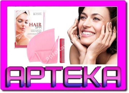 WAX PILOMAX HAIR SPA II turban + grzebień